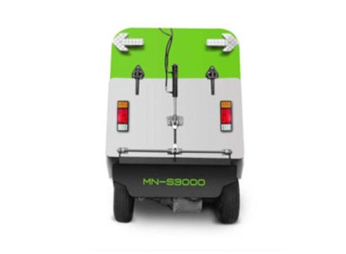 大型纯吸电动扫路车MN-S3000背面图